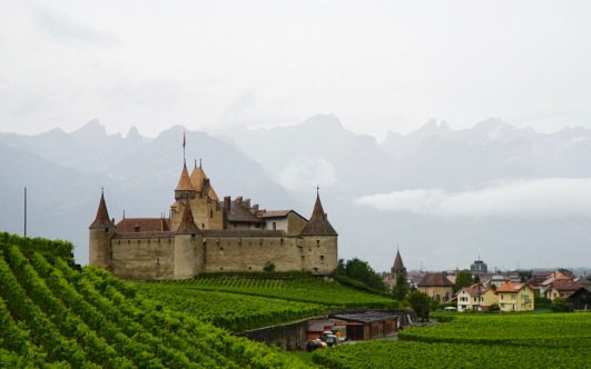 Pilgrim-Paths-Aigle-Castle