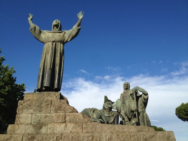 Pilgrim-Paths-St-Francis-Statue